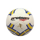 PROTEAM Bola Soccer Size 5 [Olympia] - Blue/Yellow - Bola Sepak / Soccer Ball